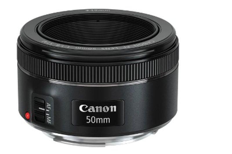 Abbildung eines 50mm Canon Objektivs
