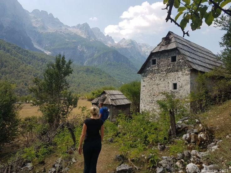 Valbona Tal Albanien