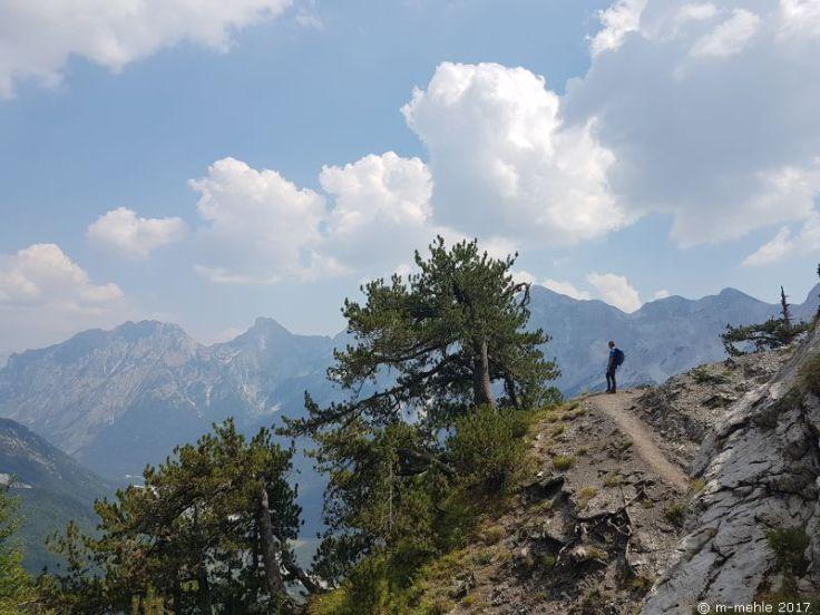 Qafa e Valbonës-Pass, Valbona, Albanien