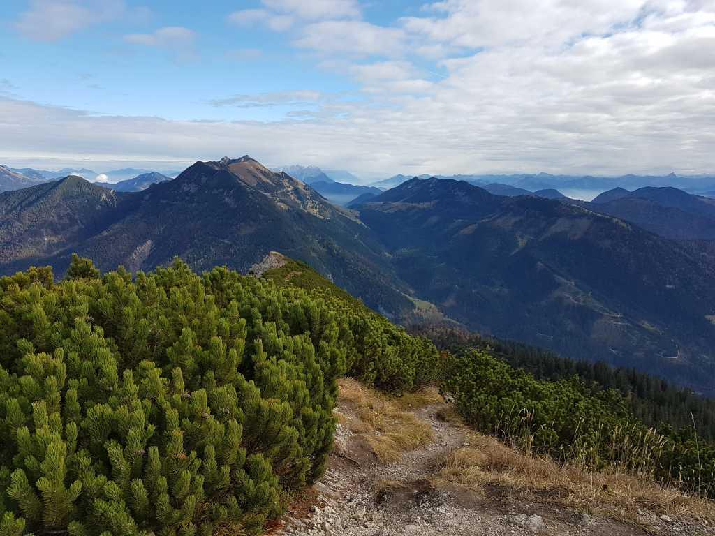 Blick vom Gipfel des österreichischen Schinders