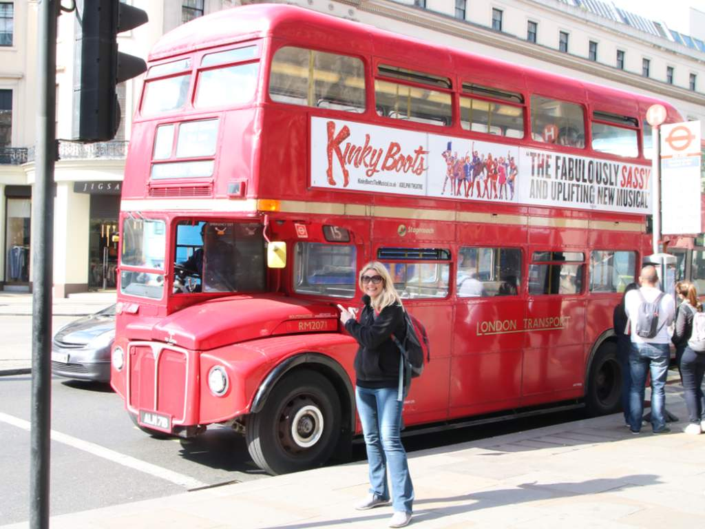 Doppeldeckerbus in London