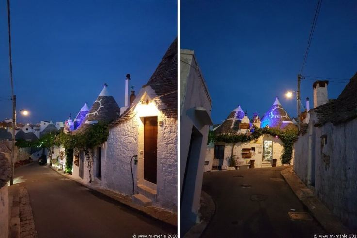 Gasse in Alberobello