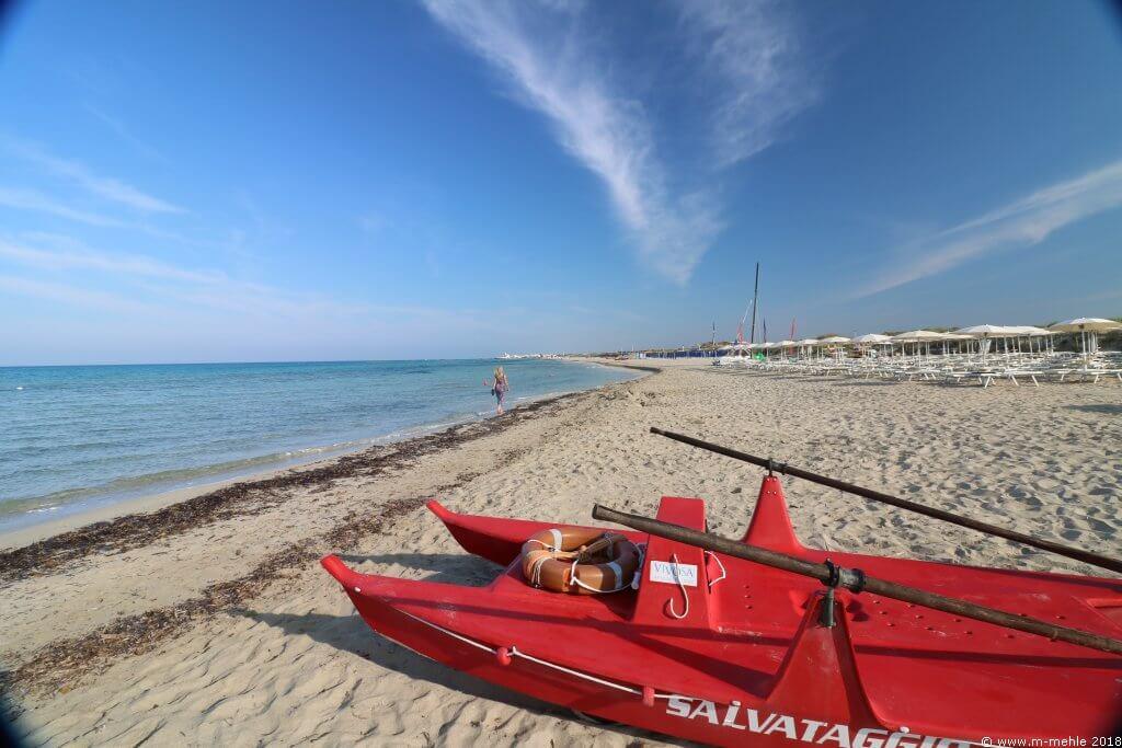 Strand bei Riva di Ugento