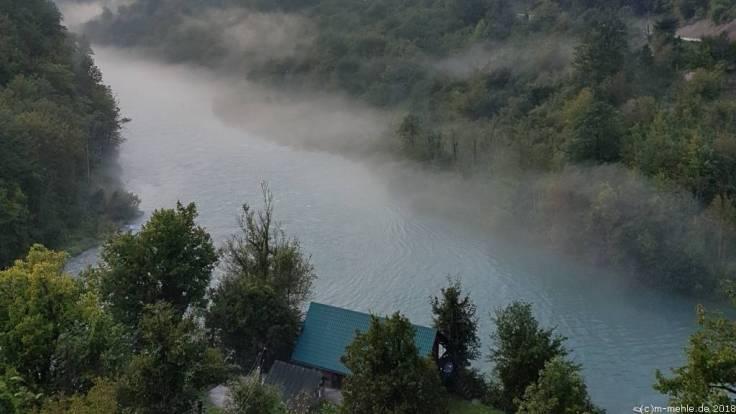 Zusammenfluss der Tara und Piva, Montenegro