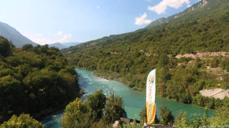 Zusammenfluss der Tara und der Piva, Montenegro