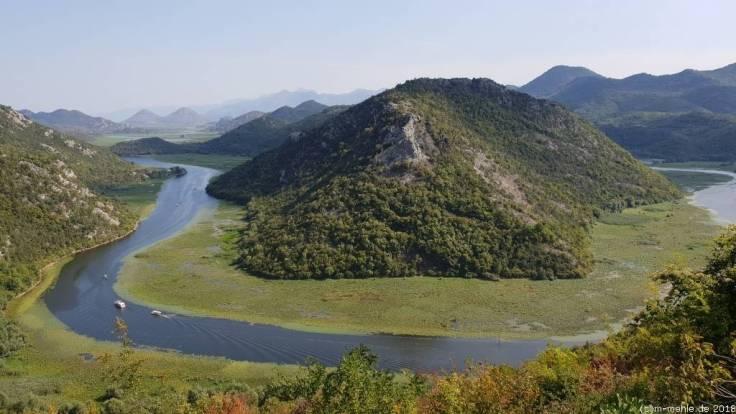 Rijeka Crnojevića, Zufluss zum Skutarisee, Montenegro