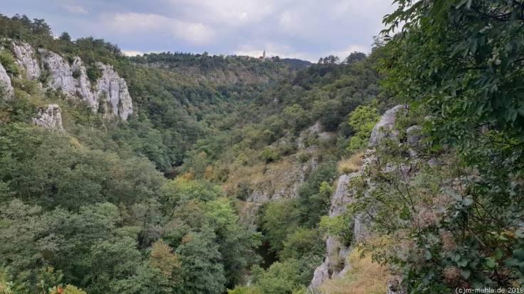 Unterwegs zu den Höhlen von Škocjan