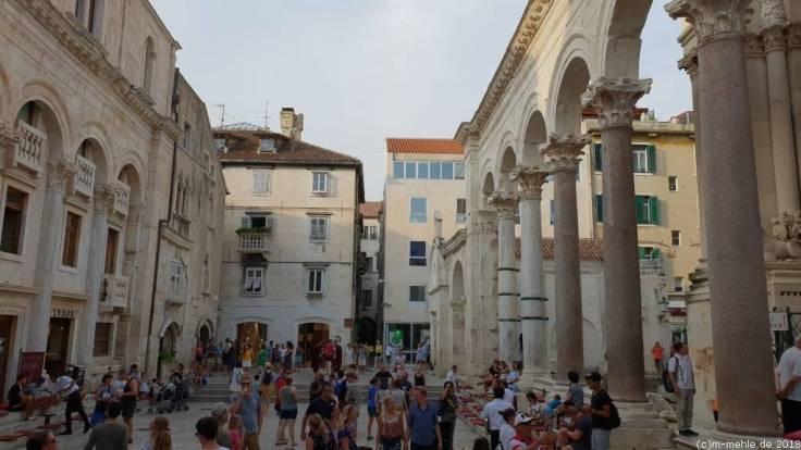 Peristyl, Split Kroatien