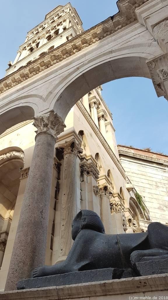 Sphinx von Split, Kroatien