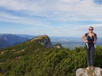 Höhenweg vom Brauneck zur Benediktenwand