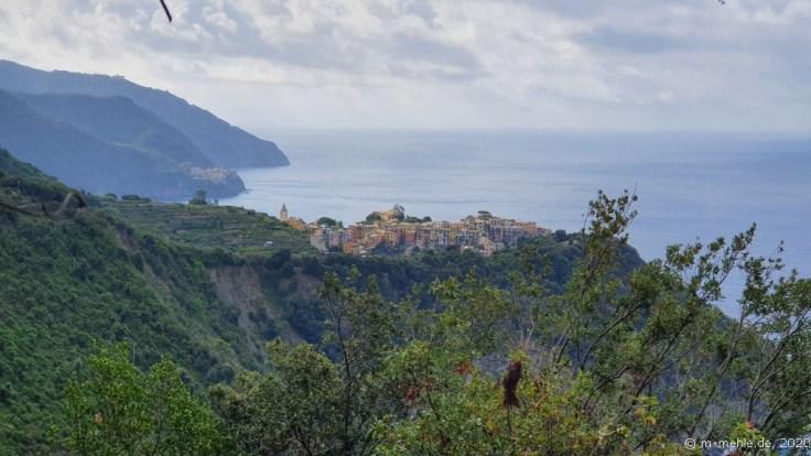 Blick auf Corniglia