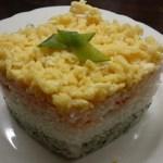 ひな祭りの菱形押し寿司を牛乳パックで作ってみた!簡単で美味しい!