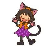 ハロウィンの仮装 今年はかわいい猫になる!簡単に猫らしくなるには?
