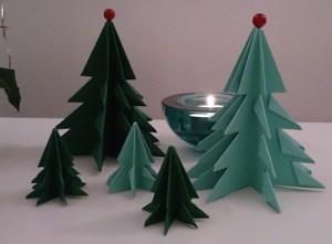 折り紙クリスマスツリー