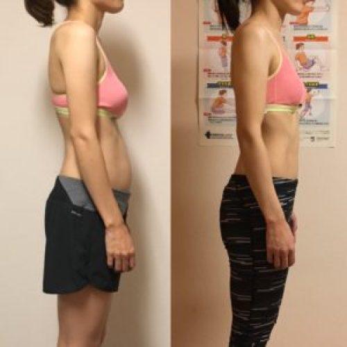 トレーニング後の変化