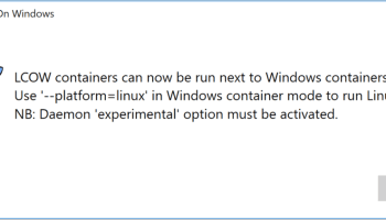 Docker for Windows 17 11 with Windows 10 Fall Creators Update   M-SQUARE