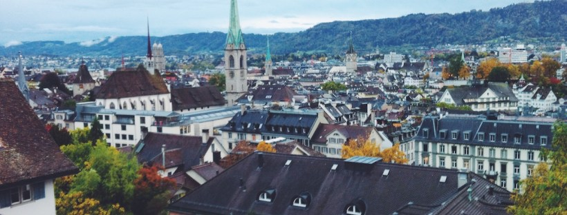 zurich switzerland rooftops