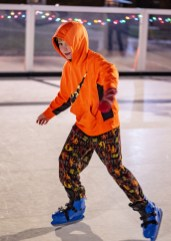 Ben Kleppinger/ben.kleppinger@amnews.com Lucas Lasage, 9, gets up some speed.