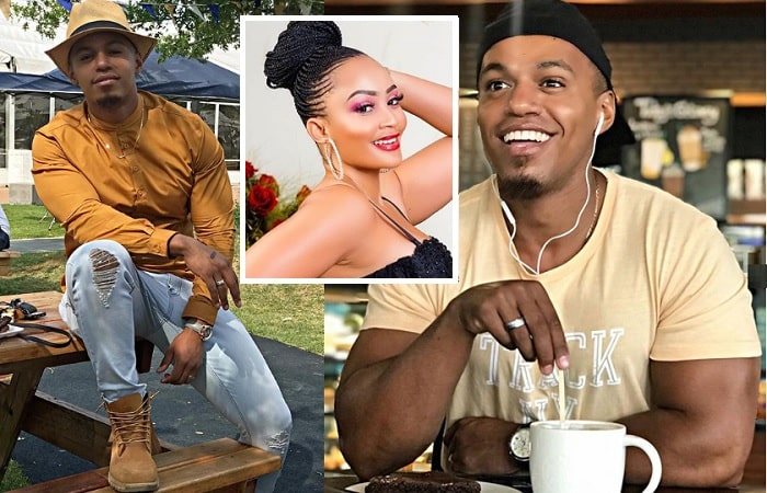 Cedric Fourie and inset is his wife Zari Hassan