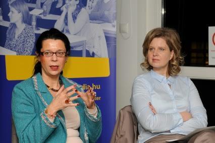 Horváth-Magyary Nóra (K&H Csoport) és Csejtei Ildikó (IMEC)
