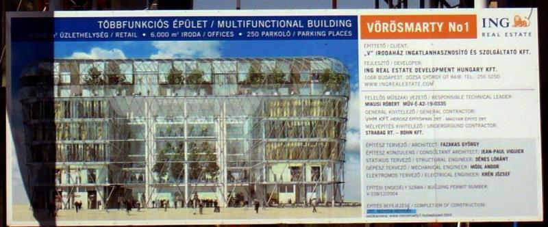 Hungary, Vörösmarty tér, V. kerület, Rogán Antal, Budapest,  Redevco, ING Real Estate Corporate, korrupció