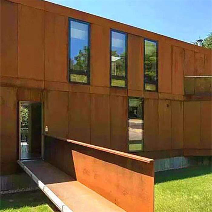 china corten steel frame curtain wall manufacturers suppliers distributor factory direct price gnee