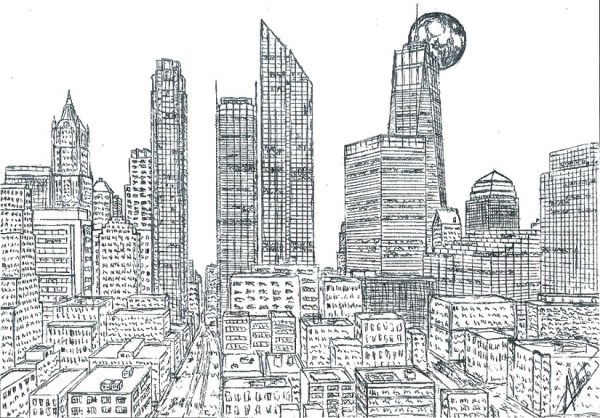 new york coloring pages # 16