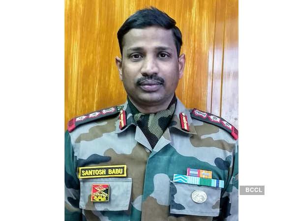 santosh babu: Col Santosh Babu had taken charge of army's 16 Bihar ...