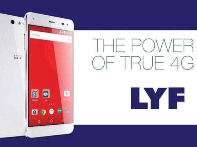 Reliance Jio's Lyf becomes fifth largest smartphone player ... Top 10 Indian Smartphones Brands