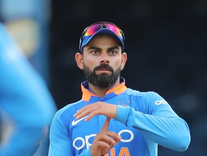 virat kohli: virat kohli's grey hair shows what cricket
