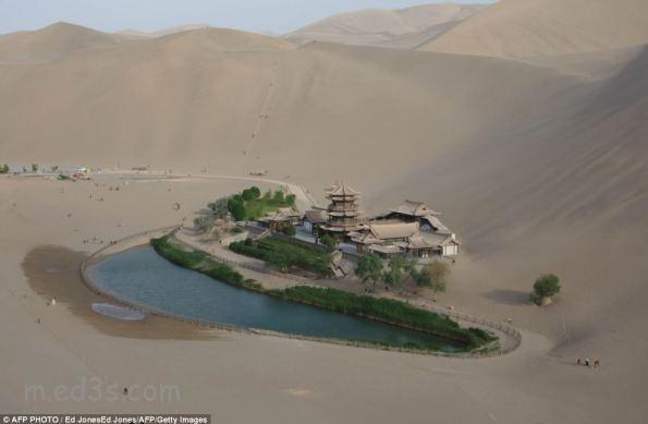 واحة في الصين عمرها 2000 عام