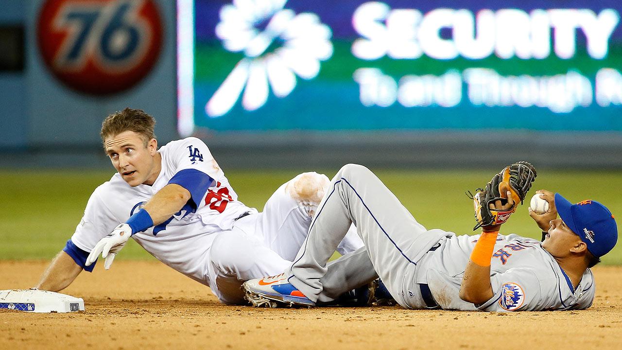 Tras la lesión de Rubén Tejada en 2B, MLB analiza reglas