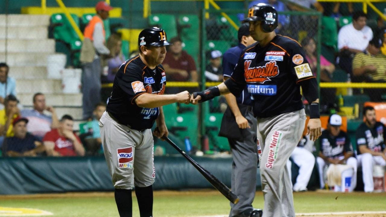 Naranjeros le pegan al puntero Los Mochis en la LMP