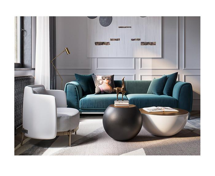 china customize double sided sofa suitable for the living room l sofa 4 seats sofa compartment with dark gray manufacturers suppliers factory wholesale price euromood