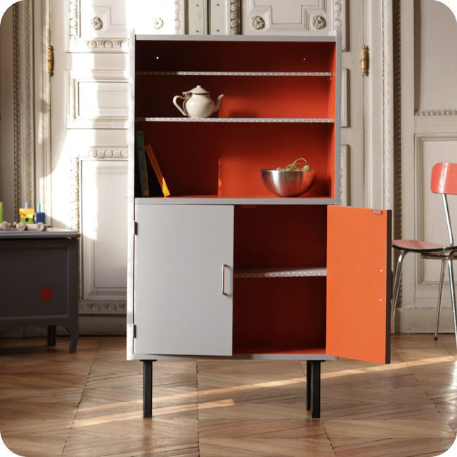 meubles vintage rangements etagere