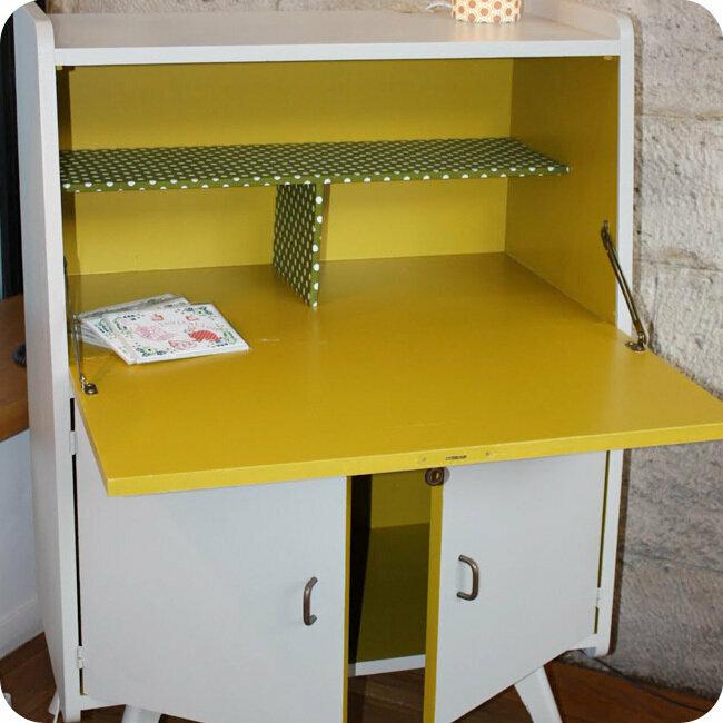 meubles vintage bureaux tables