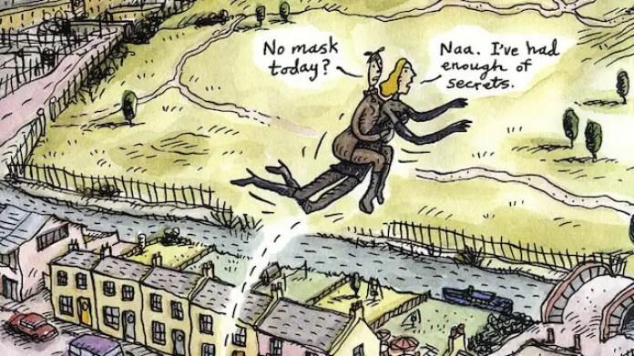 Comic von Steven Appleby: Vergesst Batman! Hier ist Dragman!
