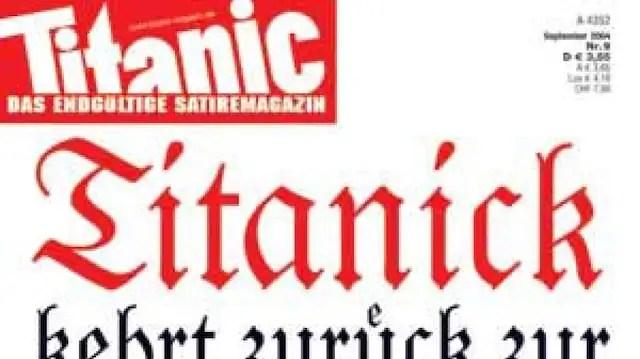 25 Jahre Titanic Schlagt Euch Die Sonne Aus Dem Hirn
