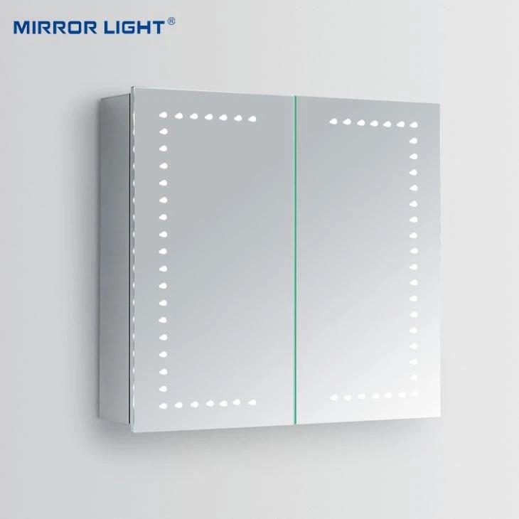 Armoire A Pharmacie Avec Eclairage Led Pour Miroir De Salle De Bain Chine Fabricants Et Fournisseurs Lumiere Miroir
