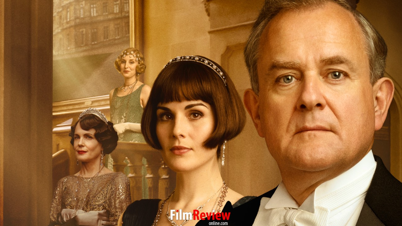 Downton Abbey Movie – Poster: Elizabeth McGovern, Laura Carmichael, Michelle Dockery and Hugh Bonneville