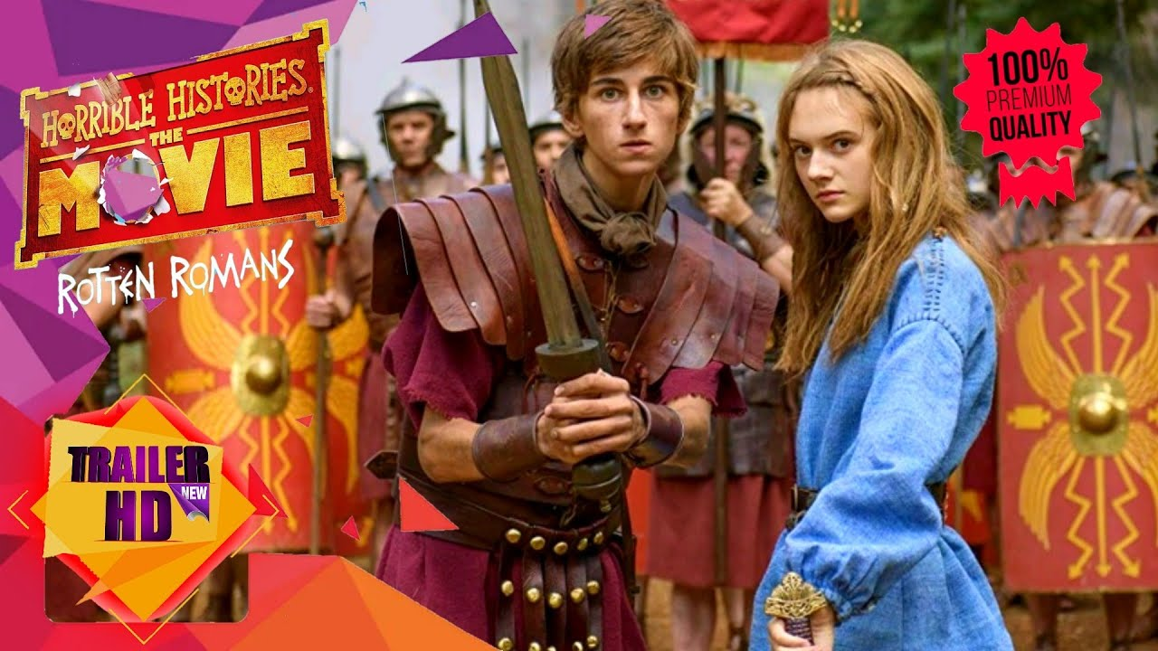 Horrible Histories The Movie – Rotten Romans (2019) Mp4