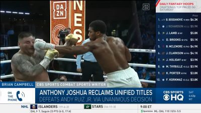 Anthony Joshua Vs Andy Ruiz Rematch Mp4