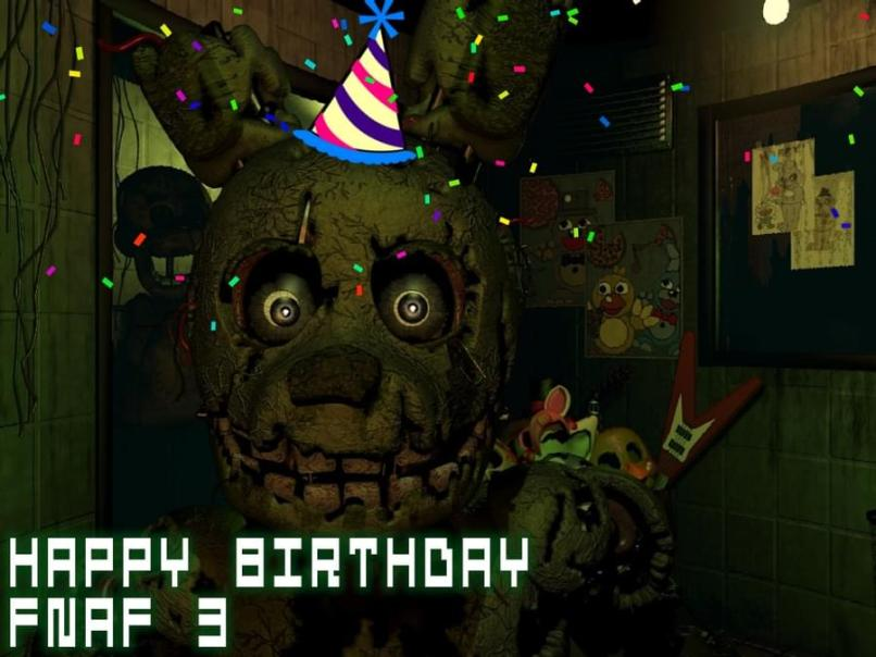 Five Nights At Freddy S 3 Gamejolt | Wajigame co
