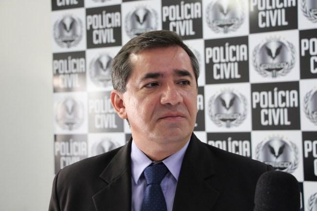 Delegado Willame Moraes, coordenador do Greco