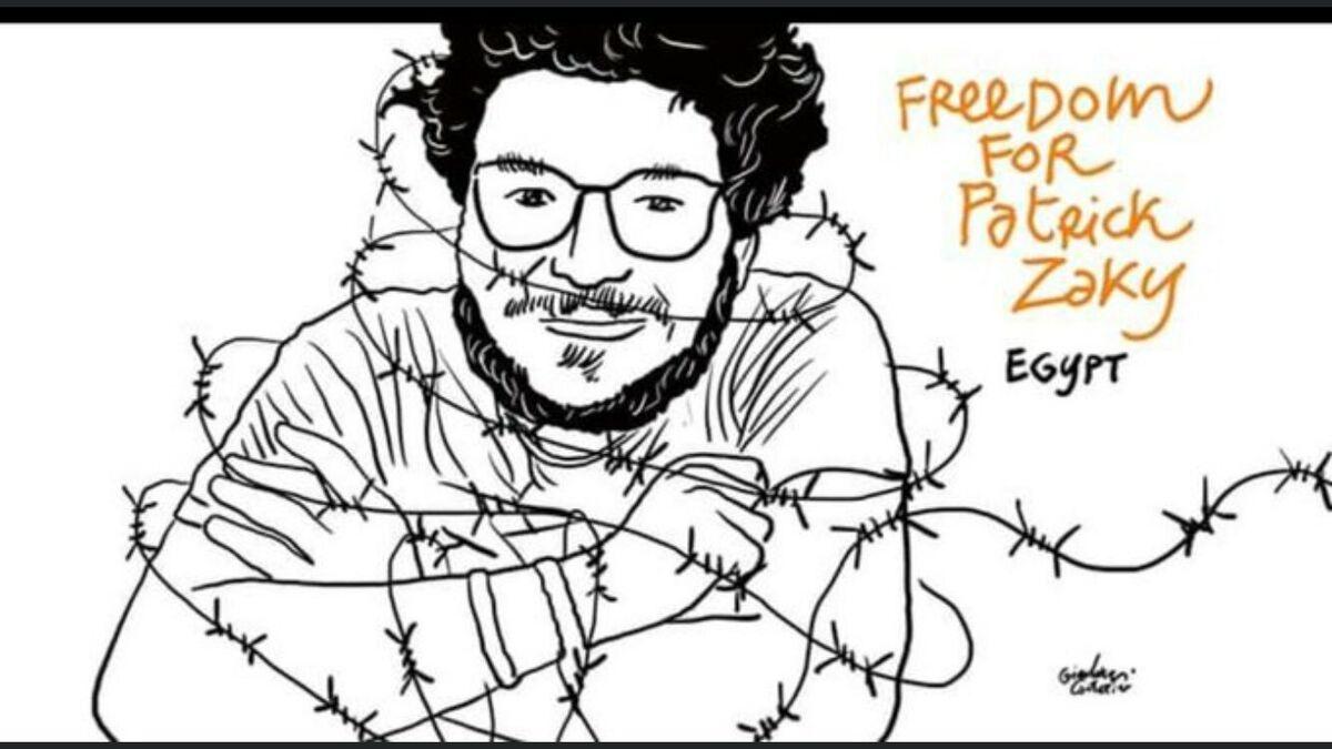Detenido y torturado en Egipto Patrick Zaki, un investigador que estudia en Italia
