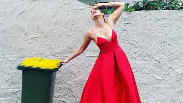 Trashy fashion: Dressing up to take the bins out in coronavirus lockdown  for #BinIsolationOuting - fashion and trends - Hindustan Times