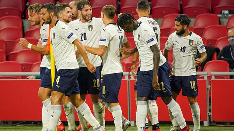 Italy returned to winning ways as Nicolo Barella's header, just before half-time, secured a 1-0 victory away to a below-par Netherlands in their UEFA Nations League clash on Monday. At an empty Johan Cruyff Arena, Italy showed the greater urgency and quality throughout and were full value for the win that follows Friday's disappointing 1-1 […]