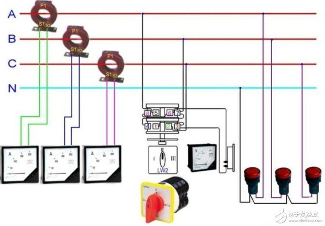 current transformer physical wiring diagram  knowledge