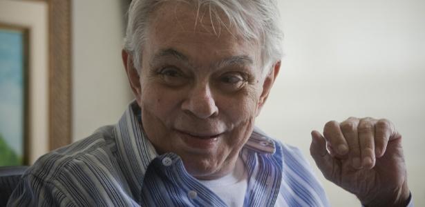 Chico Anysio em sua casa em São Paulo (30/6/09)