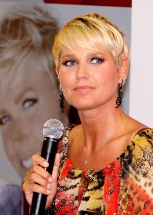 """Xuxa apresenta novidades do """"TV Xuxa"""" para 2012 (21/3/12)"""